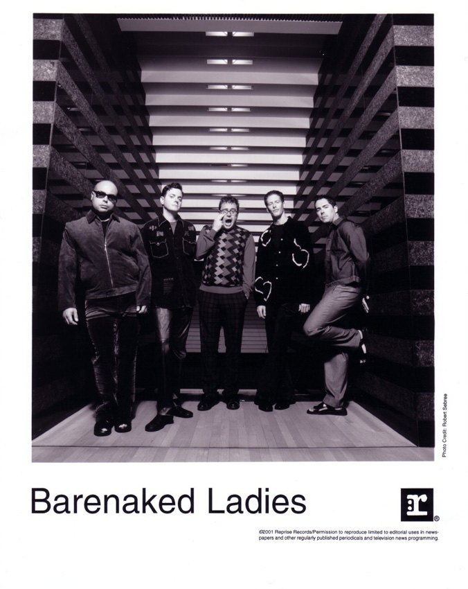 Barenaked Ladies 2001